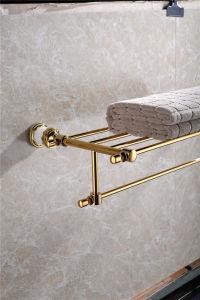 New Design Zf-562 Towel Shelf Jade Bathroom Accessory pictures & photos