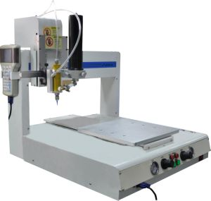 Four-Axis Fully Automatic Glue Dispensing Machine for Coating of Hardware pictures & photos