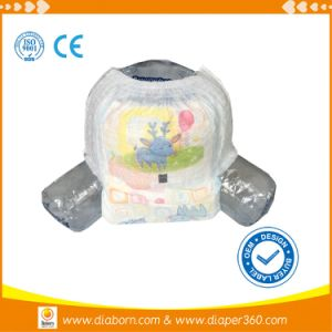Training Pants Soft Breathable Disposable Baby Pull up Diaper pictures & photos