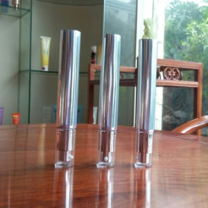 30ml Polyfile Silver Cosmetic Tube with Pump pictures & photos
