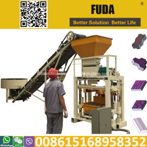 Qt40-1 Vibrator Concrete Block Making Machine pictures & photos