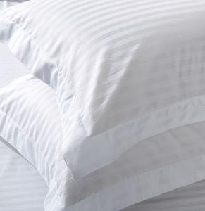 Super Soft Durable Satin Stripe Hotel Cotton Bedding Set Bed Linen pictures & photos