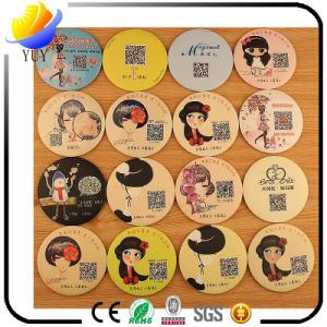 Sweet Lovely Portative Circular Cartoon Cosmetic Mirror pictures & photos