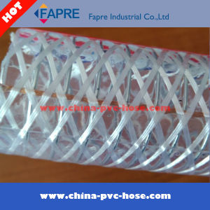 2017 Anti-Static PVC Steel Wire Reinforced Hose Pipe pictures & photos