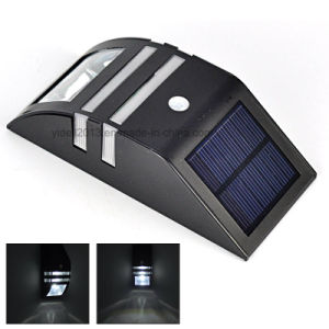 Solar Powered LED PIR Motion Sensor Outdoor Path Wall Light Garden Security Lamp pictures & photos