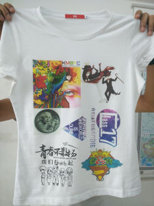 2017 A3 Size High Speed Automatic T Shirt Multi Function UV Flatbed Printer pictures & photos