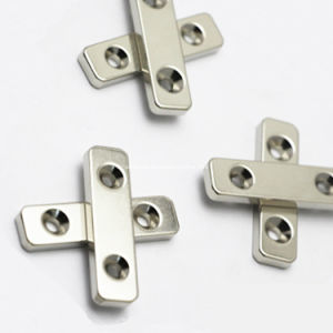 Block Neo Permanent Magnet with Screw Holes pictures & photos