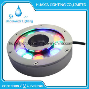 27watt IP68 Waterproof Fountain Underwater LED Pool Lights pictures & photos