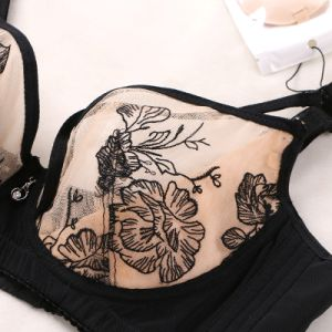 Embroidery Flowery Newest Design at Low Cost pictures & photos