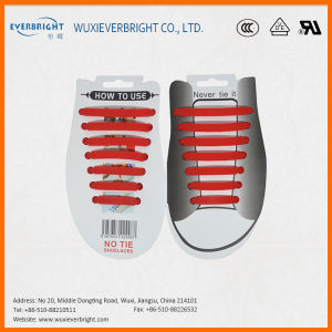 Popular Never Tie Polyester Silicone Shoelaces