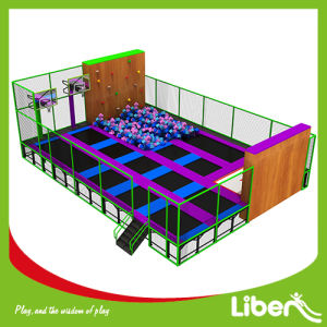 Large Kids Indoor Jumping Amusement Trampoline Park Seller pictures & photos