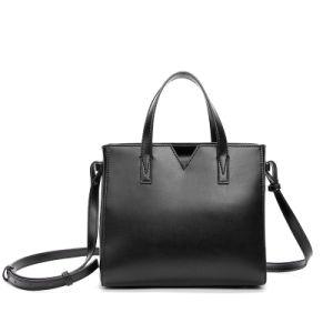 Dz032. Contracted Inclined Shoulder Bag Handbag Vintage Cow Leather Bag Handbags Ladies Bag Designer Handbags Fashion Bags Women Bag pictures & photos