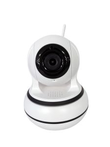 Smart Home CCTV Security WiFi IP Camera with Two-Way Audio, Supports TF Card