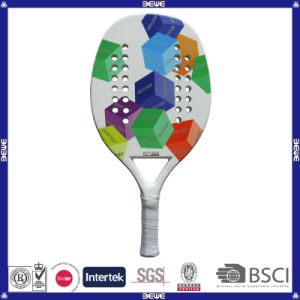 Btr-4006 Cube Fiber Glass Material Beach Tennis Racket pictures & photos