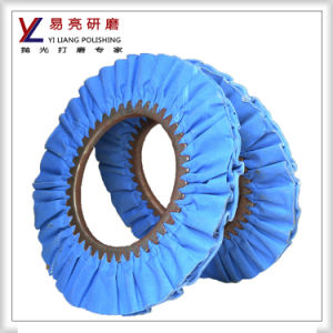 Yiliang Fork and Knife Finish Cotton Airway Buffing Wheel pictures & photos