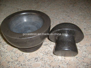 Cutomized Marble Mortar and Pestle Supplier in China pictures & photos