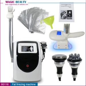 3 in 1 Cool Sculpting Machines with Cavitation and RF pictures & photos