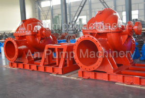 Electric Motor Driven Split Case Fire Fighting Water Emergency Pump pictures & photos