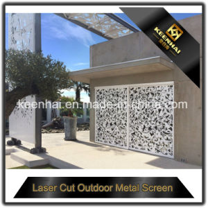 Exterior Laser Cut Perforated Aluminum Sheet Metal Fence Panel pictures & photos