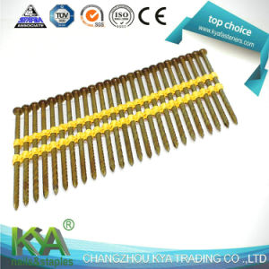 Plastic Collated 17 Degree Galvanized Strip Nails pictures & photos