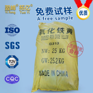 Iron Oxide Yellow for Ceramic, Coating, Printing, Painting, Ink, Building Material and Rubber, etc. pictures & photos