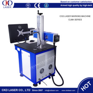 CKD Laser Hot Sale 50W CO2 Laser Marking Machine for Nonmetal Engraving pictures & photos