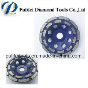 Diamond Grinding Steel Base Cup Wheel for Metal Turbo Segment