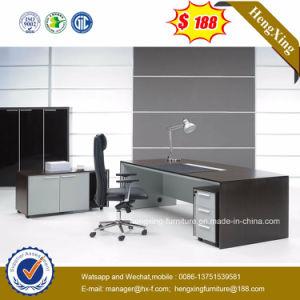 Black Walnut Color L Shape Desk Office Table (HX-G0301) pictures & photos