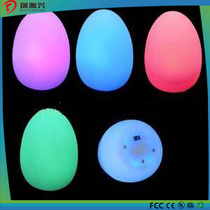 Colorful Christmas Decoration Egg Shape Candle Light pictures & photos