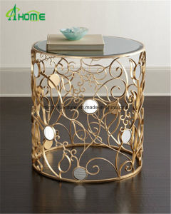 Most Popular Mirror Side Table Coffee Table for Living Room pictures & photos