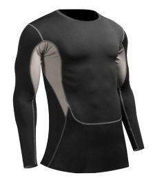 Man′s Quick-Dry Cycling Jersey Athletic Moisture-Wicking Compression Skin Sportswear pictures & photos