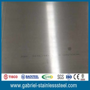 Good Quality Kinds of 316L Grade 4mm Stainless Steel Sheet Tolerances pictures & photos