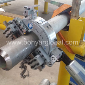 Od Mounted, Pipe Cutting and Beveling Machine with Pneumatic Motor (SFM0408P) pictures & photos
