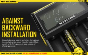 2016 Vivismoke High Quality 18650 Battery Charger Nitecore D4 Charger pictures & photos