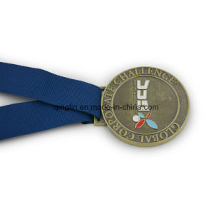 Global Corporate Challenge Medals with Logo Ang Ribbon pictures & photos