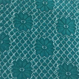 Eco-Friendly Knitted Chemical Embroidery Lace Fabric pictures & photos