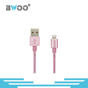 Manufacturer Supply Nylon Braided Micro Lightning Data Cable pictures & photos