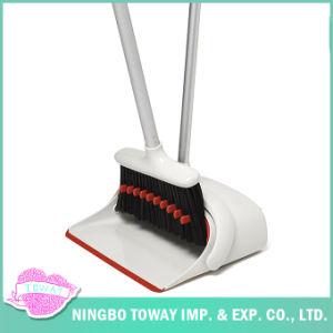 Best Sweeping Fine Bristle Push New Kitchen Wood Floor Broom pictures & photos