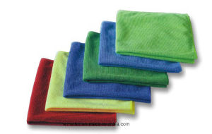 Microfiber Cleaning Cloth/Towel pictures & photos