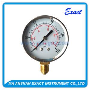 Pneumatic Pressure Gauge-Hydraulic Manometer-Bourdon Tube Pressure Gauge pictures & photos