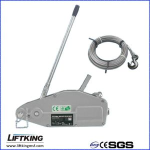 Liftking Aluminium Body Wire Rope Pulling with Ce pictures & photos