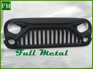 Gladiator Angry Bird Style Paintable Hood Grille for Jeep Wrangler Jk pictures & photos
