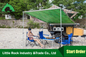 Car Roof Tent 280g Canvas 2m*2m Car Awning for Outdoor Camping Sunshade pictures & photos