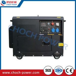 5kVA Silent Chinese Diesel Electric Generator with ATS pictures & photos
