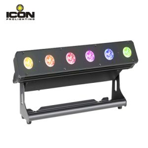 Indoor 6X15W 6in1 Pixel LED Wall Washer Bar pictures & photos