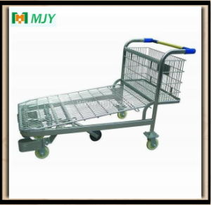 5 Wheels Warehouse Platform Trolley pictures & photos