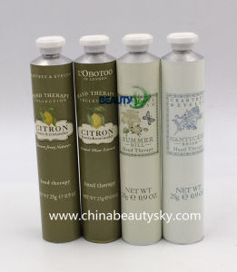 Cosmetic Packaging Body Care Hand Cream Packaging Aluminum Collapsible Tube pictures & photos