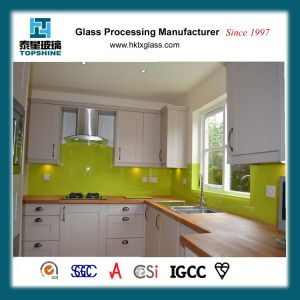 Hot Sales Customized Printing Easy Clean Tempered Glass Splashback for Kitchen pictures & photos