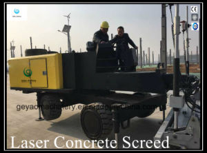 High Efficiency Laser Concrete Floor Levelling Screed Machine Gyl-500 pictures & photos