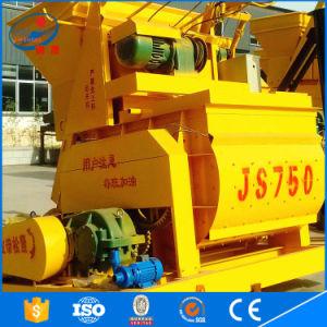 China Js750 Hot Sale Bucket Hoist Electric Type Concrete Mixer pictures & photos